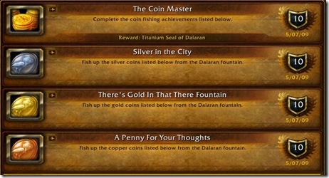 Coin Achievements